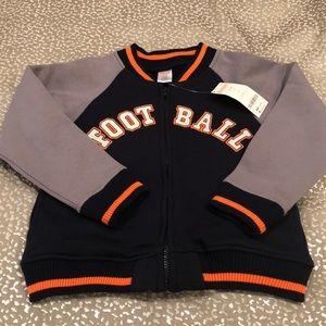 Gymboree Football Varsity Jacket